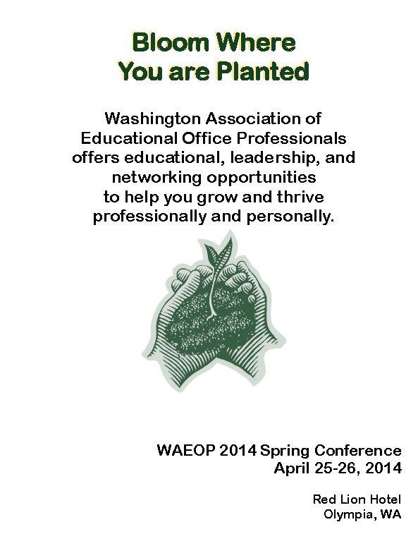 2014 WAEOP Spring Conference