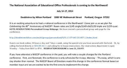 2014 NAEOP Conference